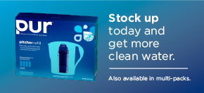 Stock up today and get more clean water.