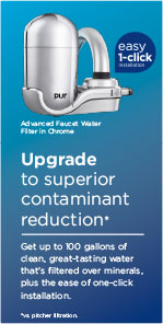 Upgrade to superior contaminant reduction